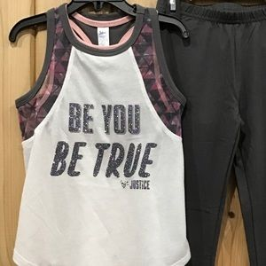 🆕Justice Tank. BE YOU. BE TRUE.